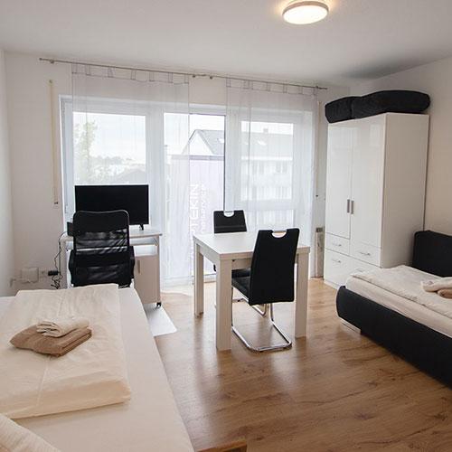 Lernen Sie unser Appartement in Aschaffenburg in der Würzburger Straße kennen.