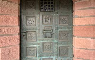 Eingangspforte der Gentilburg