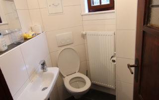 Toilette in der Gentilburg