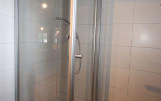 Dusche in der Gentilburg
