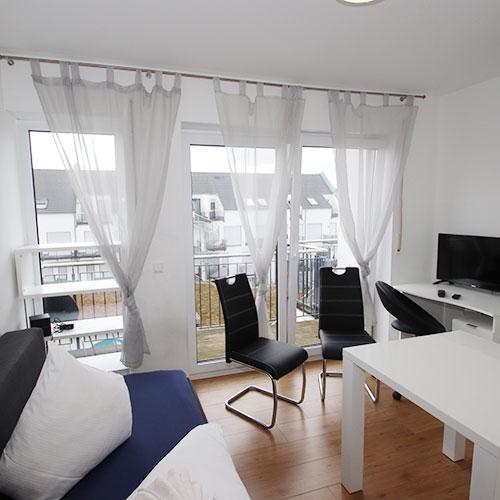 Lernen Sie unser Appartement in Aschaffenburg in der Gentilstraße kennen.