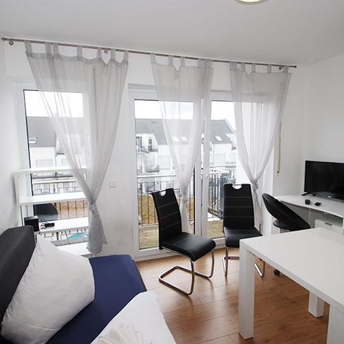 Zu unserem 1-Person Appartement in Aschaffenburg (Cicero)