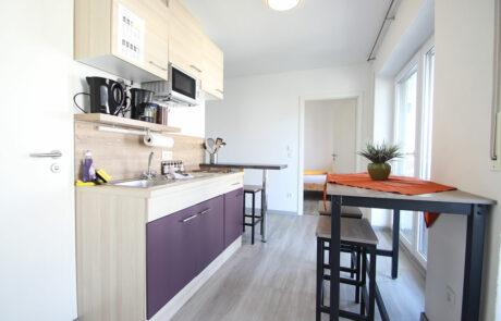AB Beckerstr.   4-Personen-Appartement Nr. 81   Küche