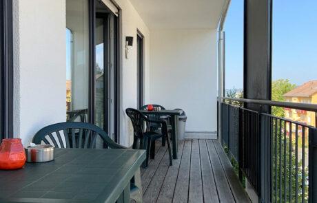 AB Beckerstr.   4-Personen-Appartement Nr. 81   Balkon