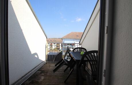 AB Beckerstr.   4-Personen-Appartement Nr. 93   Balkon